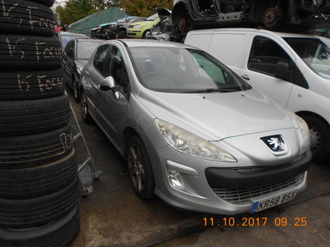 Breaking Peugeot 308 for spares #1