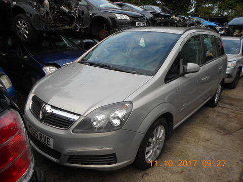 Breaking Vauxhall Zafira B for spares #1