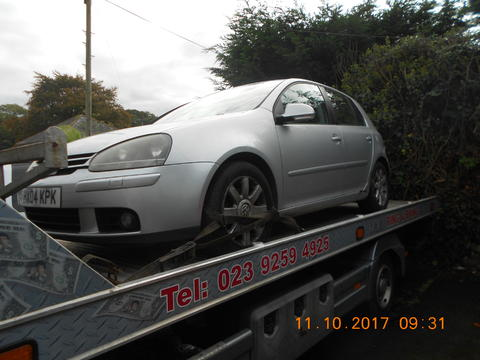 Breaking Volkswagen Golf Mk5 for spares #1