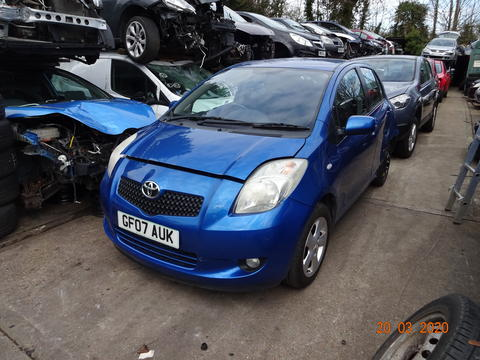 Breaking Toyota Yaris for spares #1