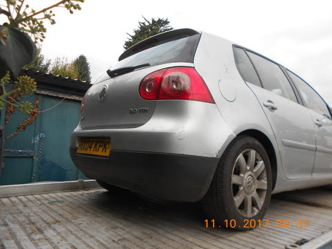 Breaking Volkswagen Golf Mk5 for spares #3