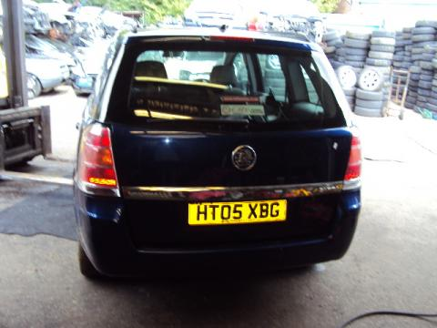 Breaking Vauxhall Zafira 1.6 for spares #4