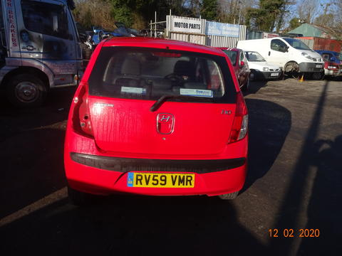 Breaking Hyundai I10 for spares #4